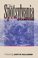 The Spotsylvania Campaign PDF