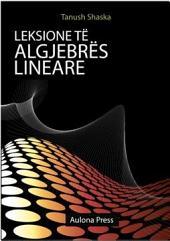 Leksione të algjebrës lineare
