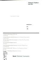 Korea Journal of Population and Development PDF