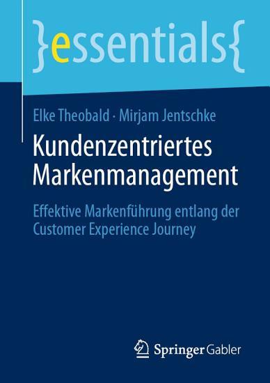 Kundenzentriertes Markenmanagement PDF