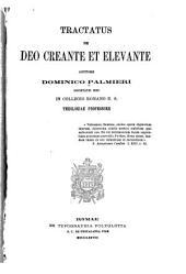 Tractatus de Deo creante et elevante