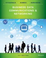 Business Data Communications and Networking  12th Edition PDF