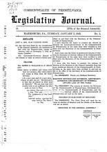 Legislative Journal PDF