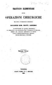 Trattato elementare delle operazioni chirurgiche del Dott. in medicina e chirurgia Ignazio Gio. Batt. Ghersi: 3, Volume 3