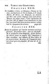 La vie de Madame J. M. B. de La Mothe-Guyon: Volume1