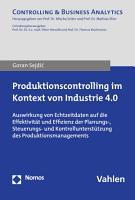 Produktionscontrolling im Kontext von Industrie 4 0 PDF