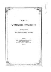 Sulle memorie storiche agrigentine dell'avv. Giuseppe Piccone [Antonio Rieppi]