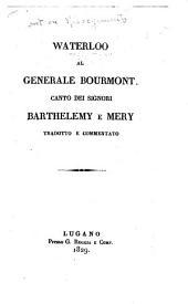 Waterloo al generale Bourmont