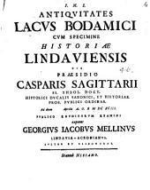 Antiquitates Lacus Bodamici cum specimine historiae Lindaviensis