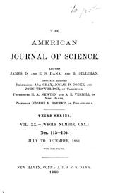The American Journal of Science: Volumes 11-20; Volumes 111-120
