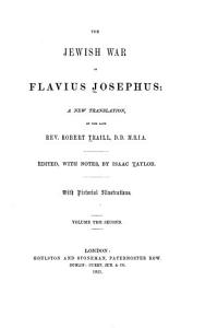 The Jewish War of Flavius Josephus
