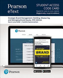 Pearson Etext for Strategic Brand Management PDF