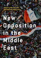 New Opposition in the Middle East PDF