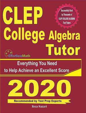 CLEP College Algebra Tutor