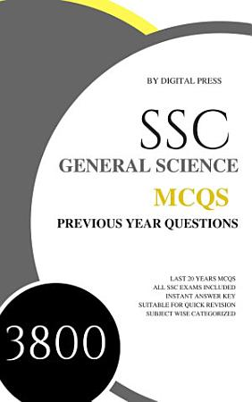 DP s SSC GK Subjectwise MCQ Series  GENERAL SCIENCE  Previous Year Questions  PDF
