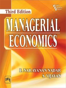 MANAGERIAL ECONOMICS  Third Edition PDF