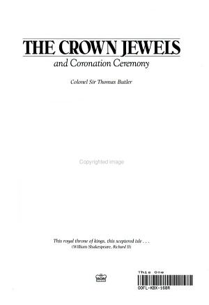 The crown jewels and coronation ceremony PDF