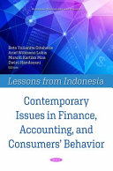 Contemporary Issues in Finance  Accounting  and Consumers  Behavior  PDF