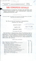 Departments of Veterans Affairs and Housing and Urban Development  and Independent Agencies Appropriations Bill  2003 PDF