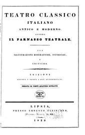 Teatro classico italiano antico e moderno, overro, Il parnasso teatrale