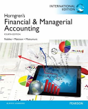 Horngren s Financial and Managerial Accounting