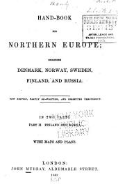 Handbook for Northern Europe: Finland and Russia