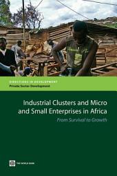 Industrial Clusters and Micro and Small Enterprises in Africa: From Survival to Growth
