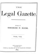 The Legal Gazette PDF