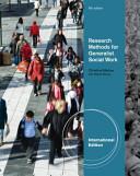 Research Methods for Generalist Social Work