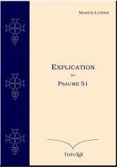 Explication du Psaume 51