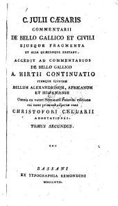 C.Julii Caesaris