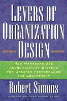 Levers Of Organization Design PDF