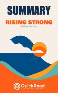 Rising Strong by Bren   Brown  Summary  Book