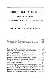 Journal de pharmacie et de chimie