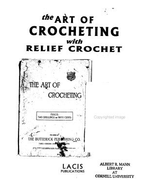 The Art of Crocheting with Relief Crochet