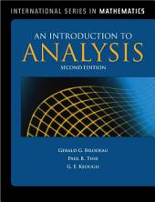 An Introduction to Analysis: Edition 2