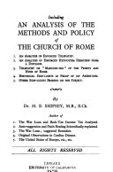 I accuse the priests and nuns of the Church of Rome
