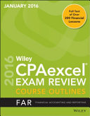 Wiley Cpaexcel Exam Review January 2016 Course Outline Book PDF
