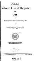 Official National Guard Register PDF