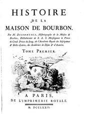 Histoire de la maison de Bourbon
