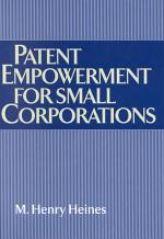 Patent Empowerment for Small Corporations