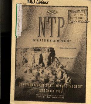 Navajo Transmission Project  NTP   NV AZ NM  PDF