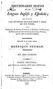 Diccionario nuevo de las lenguas inglesa y española: Volumen 2