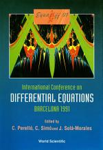 Equadiff-91 - International Conference On Differential Equations (In 2 Volumes)