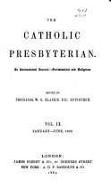 The Catholic Presbyterian PDF