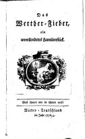 Das Werther Fieber  ein unvollendetes Familienst  ck PDF