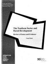 The Nonfarm Sector and Rural Development: Review of Issues and Evidence
