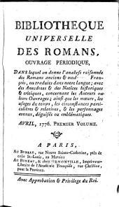 Bibliotheque universelle des Romans, ouvrage periodique