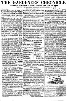 The Gardeners  Chronicle