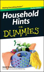 Household Hints For Dummies, Pocket Edition